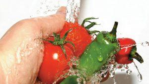 Nước axit Kangen rửa rau quả, thực phẩm rất tốt
